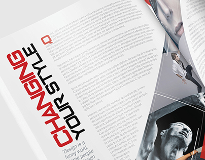 Magazine Template - InDesign 24 Page Layout V15