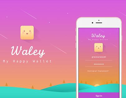 Waley Mobile UI [2016]