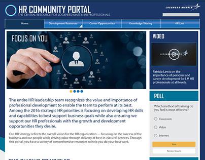HR Community Portal