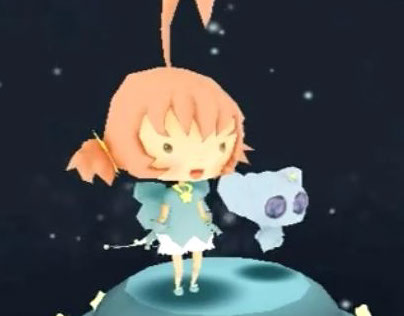 Magical Girl Aida Low Poly Project