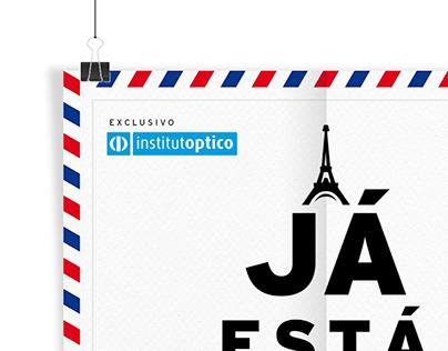 INSTITUTÓPTICO - Viagem a Paris