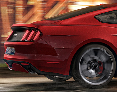 Ford Mustang GT | CGI