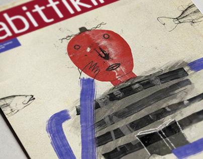 sabitfikir mag cover / 2018