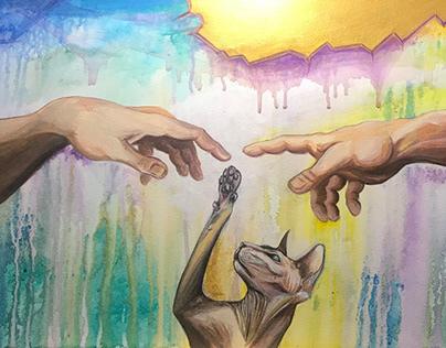 If God had a cat..