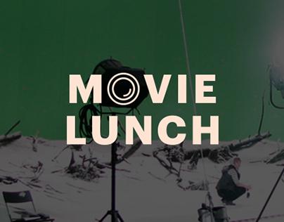 Лэндинг доставки еды на съёмочные площадки