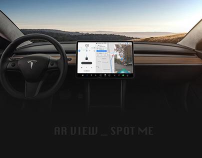 Tesla_AR View_Uber