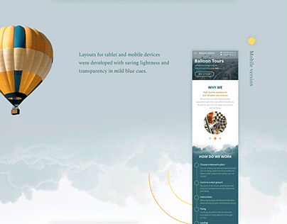 Hot Air Balloon Tours Layouts