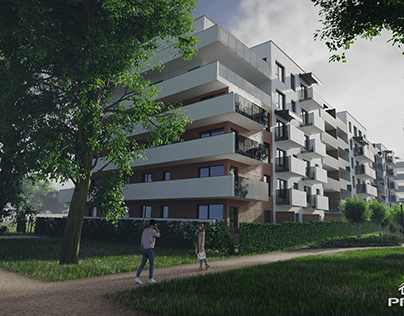 Visualization of the project for Grupa PRES Deweloper