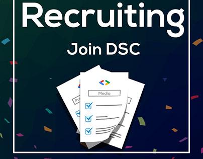 Recruitment for DSC at MUST university