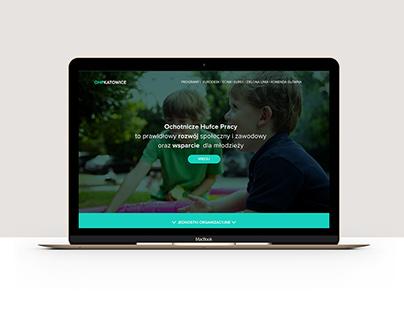 OHP Katowice – website rebranding