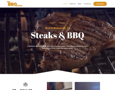 BBQ SHOP WEBSITE