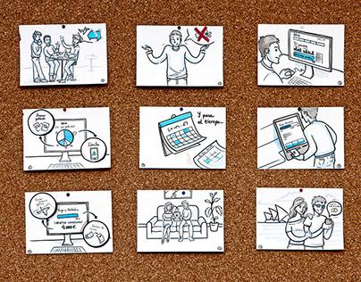 Sketchnotes and visual thinking