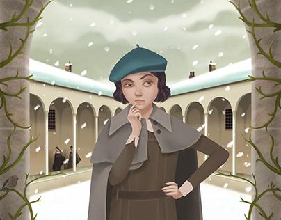"""Viperine"", Gallimard Jeunesse 2018"
