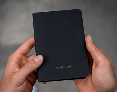WAYFINDER Borderless Passport / Notebook Holder