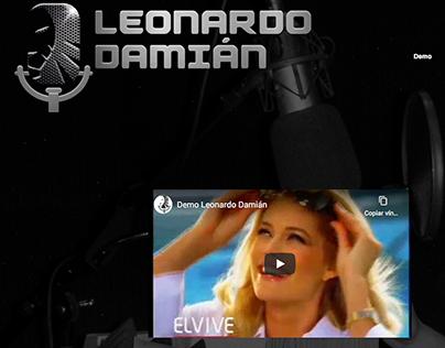 leonardodamian.mx - Sitio Web