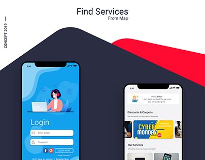 UI Design for a Find Services App