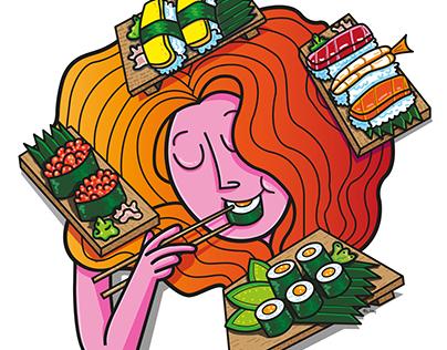 Food-themed Illustrations