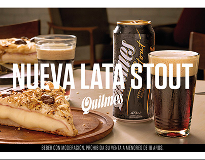 Quilmes - Nueva lata Stout