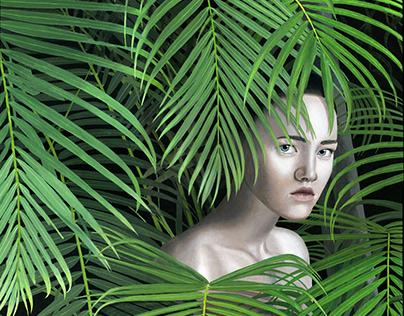 Wild female indigenous n. 3