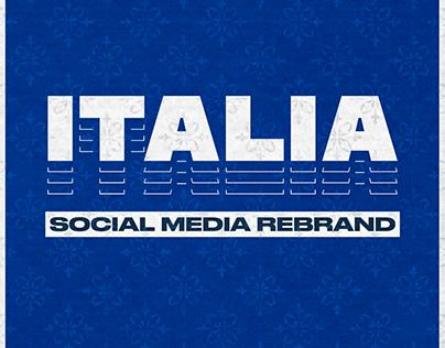 Italia - Social Media Rebrand