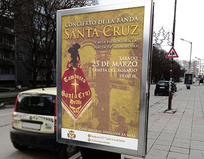 Póster | Concierto Banda Santa Cruz