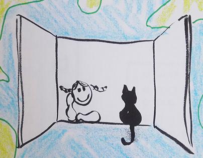 Animações para Live Infantil - Terremota