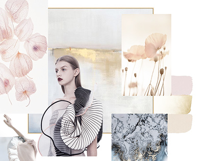 BLOSSOM Moodboard and Color Story