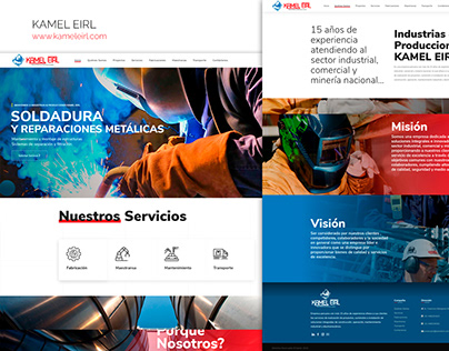 Diseño Web Kamel EIRL