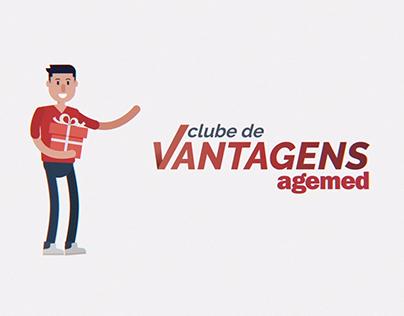 Motion Graphics - Clube de Vantagens Agemed