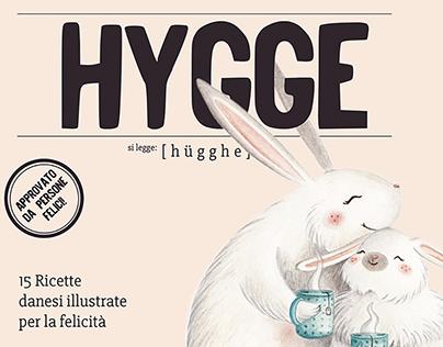 Hygge - 15 ricette danesi illustrate per la felicità