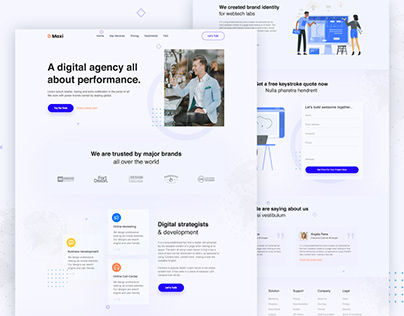 Agency Landing Page Exploration (01)