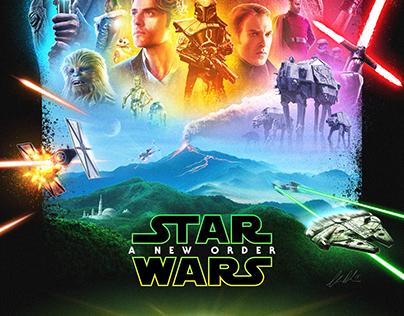Star Wars Episode 9 mockup poster
