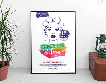 Poster | Dia da Diversidade da Beleza 2017