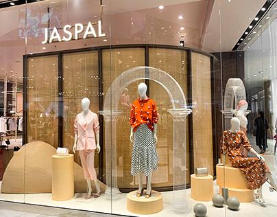 Window display concept design for JASPAL