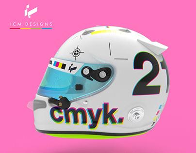 CMYK Helmet