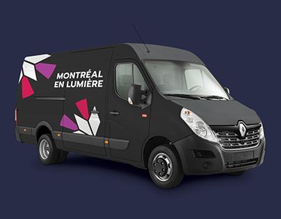 Montréal en Lumière • Logo