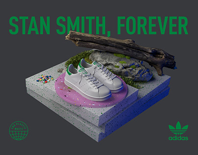 adidas STAN SMITH, FOREVER