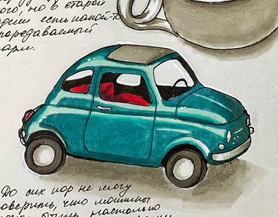 Italian travel sketchbook' 17