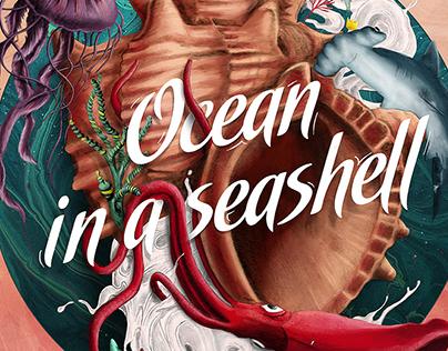 OCEAN IN A SEASHELL • ALBUM DESIGN