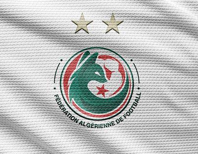 Rebrand logo of FAF - Algeria national team