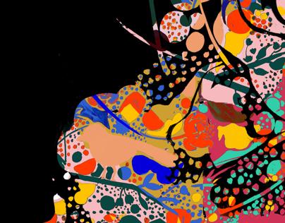 COMMISSION: Textile design
