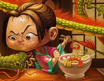 Udon - Personal Work