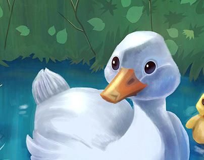 Ugly Duckling. O Patinho feio,