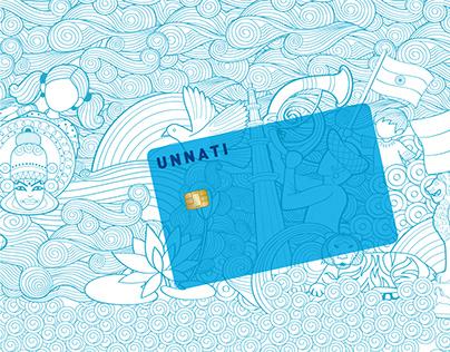 HDFC BANK - Unnati Debit Card
