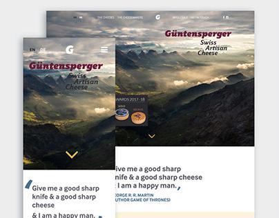 GuntenspergerSwiss-Artisan-Cheese-Website-Branding