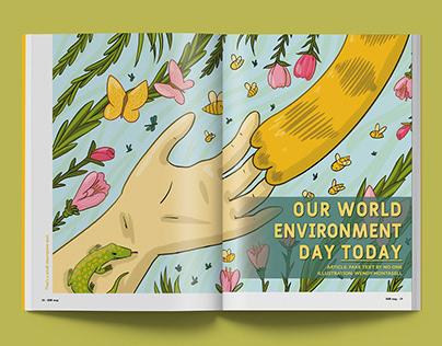 Ilustraciones para prensa: Medio Ambiente