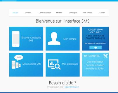 SMS Web App