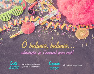 Divulgação Carnaval Nexxera