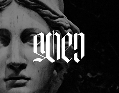 Amen   Logo/Typography Design