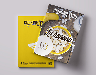 Cooking4You-Editorial design Fruit magazine